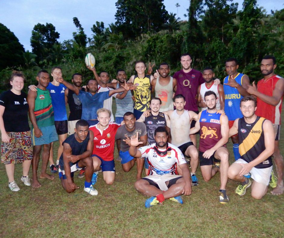 picture of rugby in Fiji Islands
