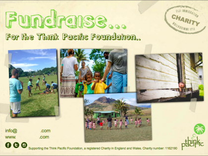 Fundraise Your Think Pacific Fee