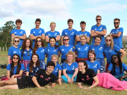 Zoe & David, 'Vlog' Their Summer with Exeter Students to Fiji University 2017