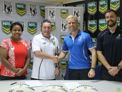 Think Pacific sign long term partnership with The NRL – National Rugby League