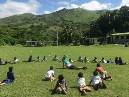 Youth and Sports Outreach Programme with NRL Fiji and NetGo