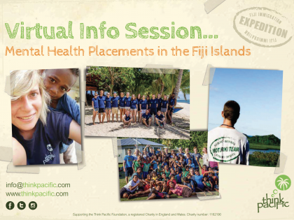 Mental Health Placements in Fiji – Virtual Info Session (Recording)
