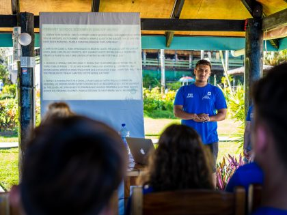 Creating New Global Partnerships – US Students Working Towards Sustainable Development in Fiji
